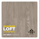 Raskin Elevations Loft Plank: Key West Floating Luxury Vinyl Plank R-LOFT-644