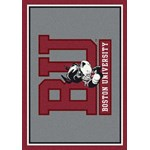 "Milliken College Team Spirit (NCAA) Boston 74194 Spirit Rectangle (4000019081) 3'10"" x 5'4"" Area Rug"