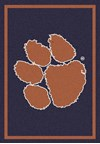 Milliken College Team Spirit (NCAA) Clemson 79798 Spirit Rectangle (4000019274) 5'4