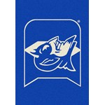 "Milliken College Team Spirit (NCAA) Duke 79544 Spirit Rectangle (4000019268) 5'4"" x 7'8"" Area Rug"