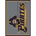 Milliken College Team Spirit (NCAA) East Carolina 79803 Spirit Rectangle (4000019156) 3