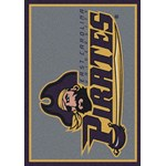 "Milliken College Team Spirit (NCAA) East Carolina 79803 Spirit Rectangle (4000019277) 5'4"" x 7'8"" Area Rug"