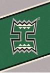 Milliken College Team Spirit (NCAA) Hawaii 45286 Spirit Rectangle (4000019408) 2'8
