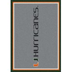 "Milliken College Team Spirit (NCAA) Miami 74386 Spirit Rectangle (4000019236) 5'4"" x 7'8"" Area Rug"