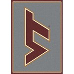 "Milliken College Team Spirit (NCAA) Virginia Tech 74159 Spirit Rectangle (4000019192) 5'4"" x 7'8"" Area Rug"