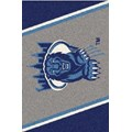 Milliken College Team Spirit (NCAA-SPT) Columbia 00410 Spirit Rectangle (4000054387) 5