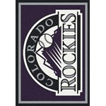 "Milliken MLB Team Spirit (MLB-S) Colorado Rockies 01005 Spirit Rectangle (4000019575) 7'8"" x 10'9"" Area Rug"