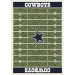 "Milliken NFL Team Home Field (NFL-F) Dallas Cowboys 01027 Home Field Rectangle (4000019825) 5'4"" x 7'8"" Area Rug"