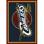 "Milliken NBA Team Spirit (NBA-S) Cleveland Cavaliers 01005 Spirit Rectangle (4000052331) 3'10"" x 5'4"" Area Rug"