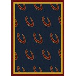 "Milliken NBA Team Repeat (NBA-R) Cleveland Cavaliers 01105 Repeat Rectangle (4000052574) 5'4"" x 7'8"" Area Rug"