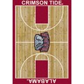 Milliken College Home Court (NCAA) Alabama 01010 Court Rectangle (4000018363) 5