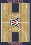 Milliken College Home Court (NCAA) Arizona 01012 Court Rectangle (4000018364) 5'4