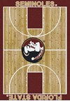 Milliken College Home Court (NCAA) Florida State 01514 Court Rectangle (4000018530) 7'8