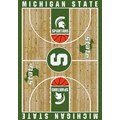 Milliken College Home Court (NCAA) Michigan State 01180 Court Rectangle (4000018395) 5