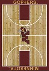 Milliken College Home Court (NCAA) Minnesota 01185 Court Rectangle (4000018396) 5'4