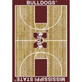 Milliken College Home Court (NCAA) Mississippi State 01188 Court Rectangle (4000018313) 3