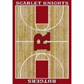 Milliken College Home Court (NCAA) Rutgers 01347 Court Rectangle (4000018498) 7