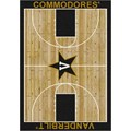 Milliken College Home Court (NCAA) Vanderbilt 01453 Court Rectangle (4000018432) 5