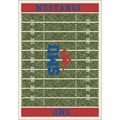 Milliken College Home Field (NCAA) Southern Methodist 01390 Home Field Rectangle (4000018583) 5