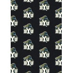 "Milliken College Repeating (NCAA) Brigham Young 01048 Repeat Rectangle (4000018757) 3'10"" x 5'4"" Area Rug"