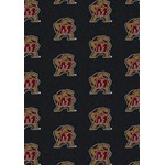 "Milliken College Repeating (NCAA) Maryland 01156 Repeat Rectangle (4000018849) 5'4"" x 7'8"" Area Rug"
