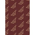 Milliken College Repeating (NCAA) Virginia Tech 01460 Repeat Rectangle (4000018881) 5