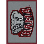 "Milliken College Team Spirit (NCAA) Alabama 74166 Spirit Rectangle (4000019074) 3'10"" x 5'4"" Area Rug"
