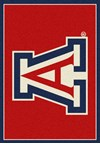 Milliken College Team Spirit (NCAA) Arizona 74758 Spirit Rectangle (4000019256) 5'4