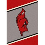 "Milliken College Team Spirit (NCAA) Arkansas 68884 Spirit Rectangle (4000019311) 7'8"" x 10'9"" Area Rug"