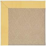 Capel Rugs Creative Concepts Cane Wicker - Canvas Canary (137) Octagon 4' x 4' Area Rug