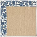 Capel Rugs Creative Concepts Cane Wicker - Batik Indigo (415) Octagon 4