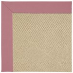 Capel Rugs Creative Concepts Cane Wicker - Canvas Coral (505) Octagon 4' x 4' Area Rug