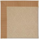 Capel Rugs Creative Concepts Cane Wicker - Vierra Brick (530) Octagon 4' x 4' Area Rug