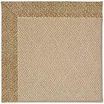 Capel Rugs Creative Concepts Cane Wicker - Tampico Rattan (716) Octagon 4' x 4' Area Rug