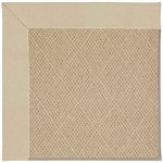 Capel Rugs Creative Concepts Cane Wicker - Canvas Antique Beige (717) Octagon 4' x 4' Area Rug