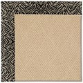 Capel Rugs Creative Concepts Cane Wicker - Wild Thing Onyx (396) Octagon 8