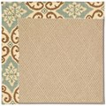 Capel Rugs Creative Concepts Cane Wicker - Shoreham Spray (410) Octagon 8