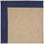 Capel Rugs Creative Concepts Cane Wicker - Canvas Royal Navy (467) Octagon 8' x 8' Area Rug