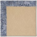 Capel Rugs Creative Concepts Cane Wicker - Paddock Shawl Indigo (475) Octagon 10