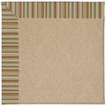 Capel Rugs Creative Concepts Cane Wicker - Dorsett Autumn (714) Octagon 10