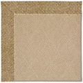 Capel Rugs Creative Concepts Cane Wicker - Tampico Rattan (716) Octagon 10