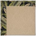 Capel Rugs Creative Concepts Cane Wicker - Bahamian Breeze Coal (325) Octagon 12