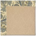 Capel Rugs Creative Concepts Cane Wicker - Cayo Vista Ocean (425) Octagon 12