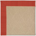 "Capel Rugs Creative Concepts Cane Wicker - Vierra Cherry (560) Runner 2' 6"" x 8' Area Rug"