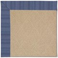 Capel Rugs Creative Concepts Cane Wicker - Vierra Navy (455) Rectangle 3