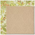 Capel Rugs Creative Concepts Cane Wicker - Cayo Vista Mojito (215) Rectangle 4