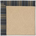 Capel Rugs Creative Concepts Cane Wicker - Vera Cruz Ocean (445) Rectangle 5