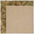 Capel Rugs Creative Concepts Cane Wicker - Bahamian Breeze Cinnamon (875) Rectangle 5