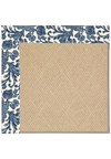 Capel Rugs Creative Concepts Cane Wicker - Batik Indigo (415) Rectangle 6' x 6' Area Rug