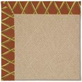Capel Rugs Creative Concepts Cane Wicker - Bamboo Cinnamon (856) Rectangle 6